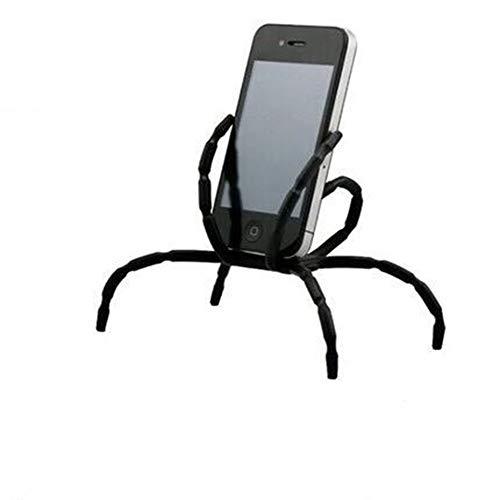 Nigoz - Soporte de teléfono multifunción para smartphones y tabletas, color negro