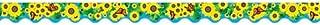 Teacher Created Resources Sunflowers Border Trim, Multi Color (4133)