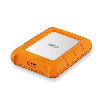 LaCie 2.5-Inch 5 TB Rugged Mini USB 3.0 Portable External Hard Drive for PC and Mac - Orange