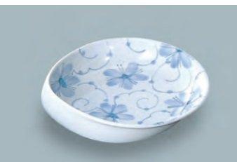 すくいやすい皿、強化磁器 大鉢