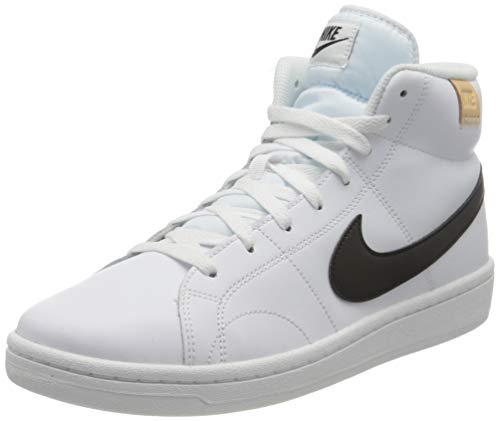 Nike Court Royale 2 Mid, Scarpe da Tennis Uomo, White/Black-White Onyx, 44 EU