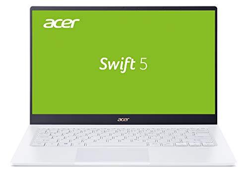 Acer Swift 5 (SF514-54T-516A) 35,6 cm (14 Zoll Multi-Touch Full-HD IPS matt) Ultrabook (Intel Core i5-1035G1, 8 GB RAM, 512 GB PCIe SSD, Intel UHD, Win 10 Home) weiß