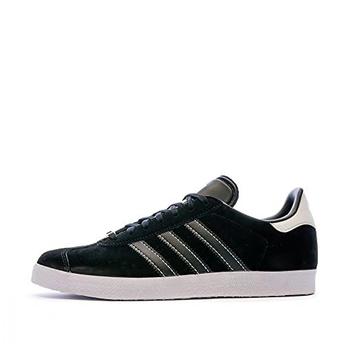 adidas Gazelle, Zapatillas Hombre, Core Black/Core Black/FTWR White, 40 EU