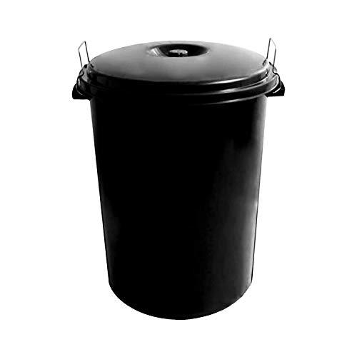WOLFPACK LINEA PROFESIONAL 10010042 Cubo Basura Plastico Comunidad con Tapa 100 litros