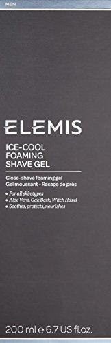 Elemis Ice Cool Foaming Shave Gel, Close-Shave Shave Gel, 200 ml