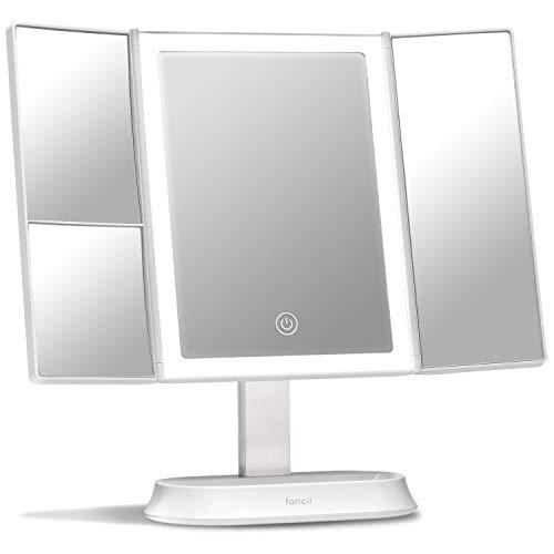 specchio trucco 7x,led Fancii Specchio per Trucco con Luce LED