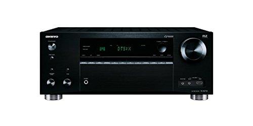 Onkyo TX-RZ710 (B) 7.2-Kanal-A/V-Netzwerk-Receiver (175 W/Kanal, THX Select2, DTS:X aufrüstbar, Dolby Atmos, AirPlay, 384 kHz/32-Bit D/A-Wandler, 8 HDMI-Eingänge/2 Ausgänge) schwarz