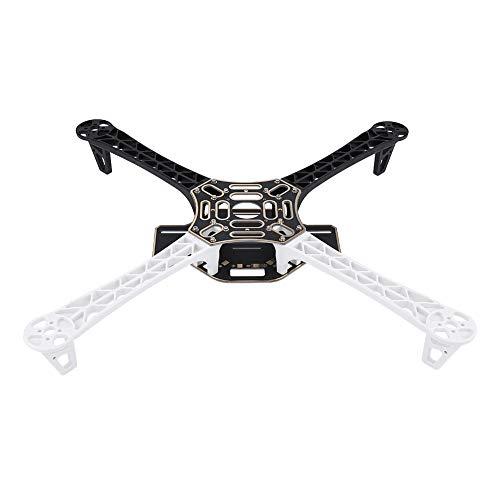 Jadpes Quadcopter Frame, 17.7inch Quadcopter FPV Aircraft Drone Frame Kit RC Accesorio Placa PCB integrada para dji F450