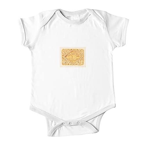 Huang Crema Natillas Bebé De Una Pieza