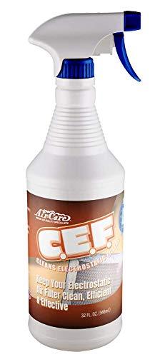 Air-Care C.E.F Electrostatic Air Filter Spray Cleaner 32oz