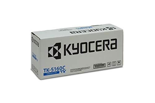 Kyocera TK-5160C Cartucho de tóner Cian 1T02NTCNL0 para ECOSYS P7040cdn