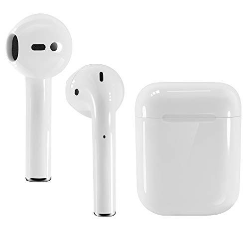 AUSHA Wireless Waterproof Earbuds, Smart Touch Control Wireless Bluetooth 5.0 Headphones TWS in-Ear Earbuds Built-in Microphone, Noise Cancelling Compatible with iPhone and Android Smart Phones