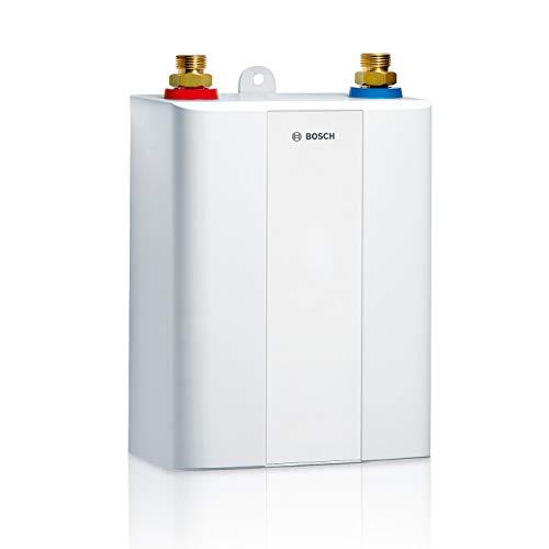 Bosch elektronischer Kleindurchlauferhitzer Tronic 4000 5 ET, kompakter Untertisch Durchlauferhitzer mit Festanschluss, Energieklasse A, 4,5 kW [Energieklasse A]