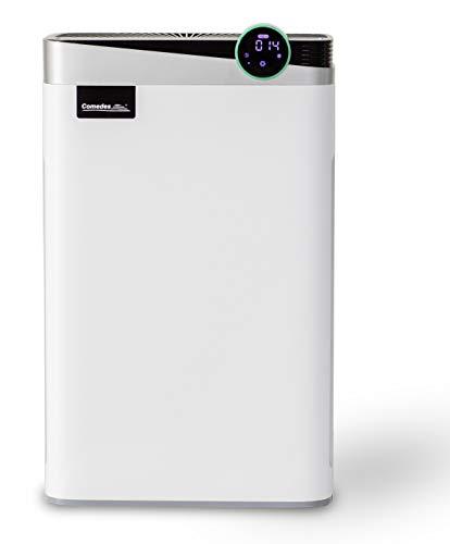 Comedes Lavaero 1000 2-in-1 Luftreiniger und Luftbefeuchter   6-stufiges Filtersystem   CADR 488m³/h   Räume bis 65m²