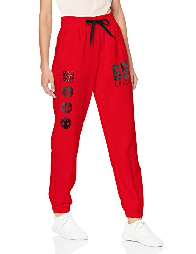 Urban Dance Dance Jogging Pant Pantalon de Sport, Multicolore (Rouge/Noir 200), XS Femme