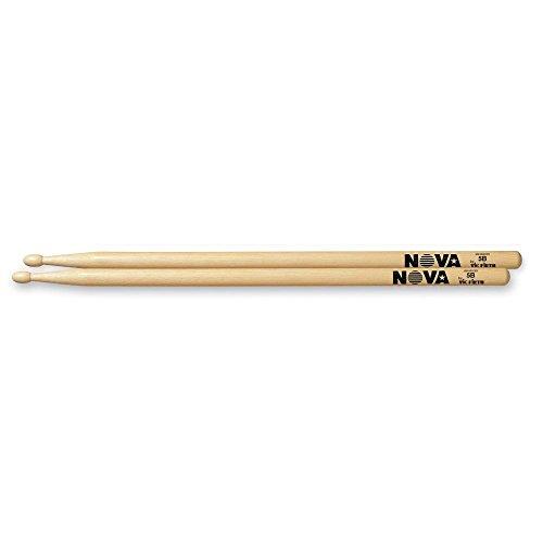 12 Pair Brick Bundle Nova VF-N5ANB By Vic Firth Nylon Tip Black Drum Sticks