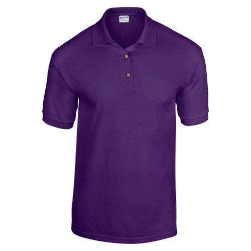 Gildan DryBlend Herren Polo-Shirt, Kurzarm (XL) (Lila)