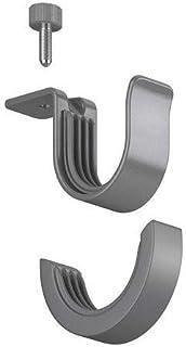 comprar comparacion Ikea BETYDLIG - Soporte para Barra de Cortina, Color Plateado