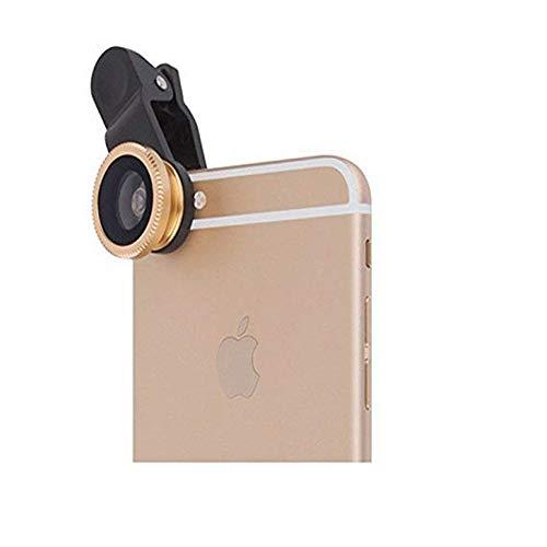 Vektenxi Handy-Kameraobjektiv Fischaugenobjektiv 3 in 1 Handyobjektiv zum Aufstecken auf das Smartphone-Objektiv Kreativ und nützlich