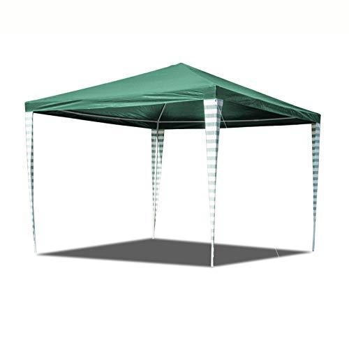 Hengda 3x3m Pavillon Wasserdicht Stabiles Partyzelt Ohne Seitenteile Partyzelt Gartenzelt UV-Schutz für Garten Terrasse Markt Camping Festival