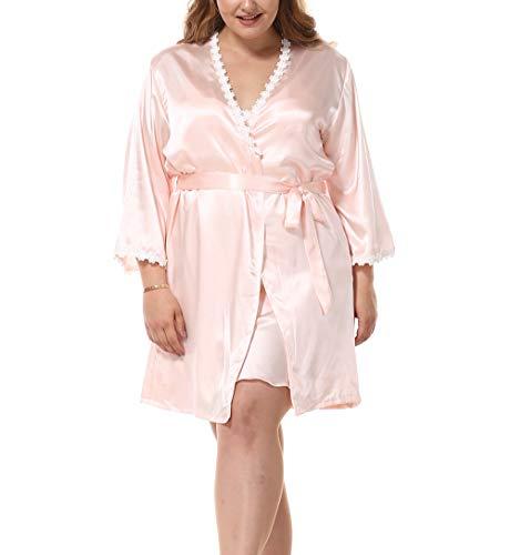 Mibuy Pijama Mujer Suave Sexy, Kimono Bata Camison Vestidos De Noche Homwear...