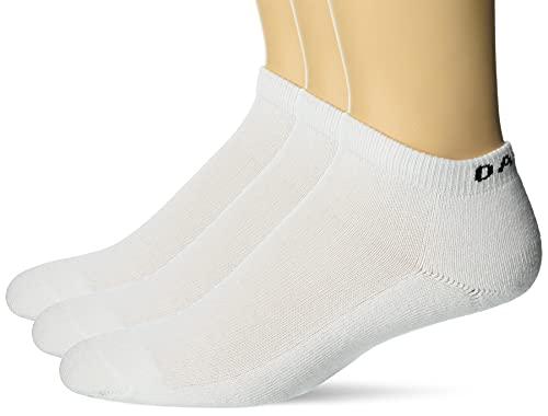 Oakley Herren Short Solid Pcs Kurze Feste Socken (3 Stück), Weiß, Medium