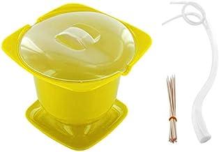 Cuisy - Fondue para microondas, Color Verde