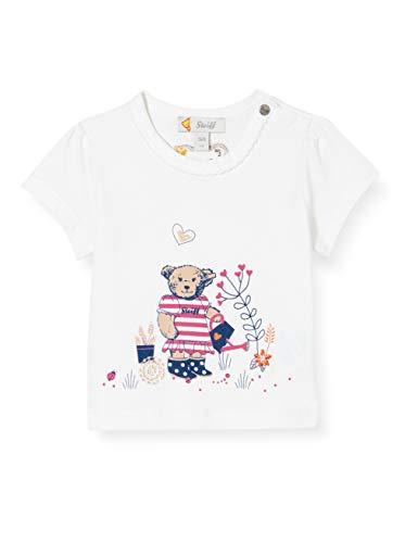 Steiff Baby-Mädchen T-Shirt, Bright White, 062