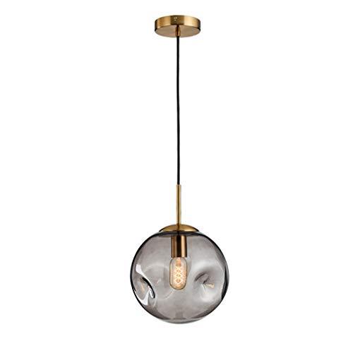 Plafondlamp lampenkap hanglamp modern met bolletjes van glas Loft LED E27 hanglamp Nordic hanglamp met 2 kleuren voor woonkamer keuken slaapkamer deel restaurant