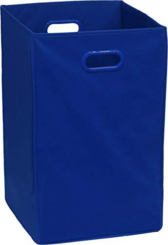 Simple Houseware Foldable Closet Laundry Hamper Basket, Dark Blue