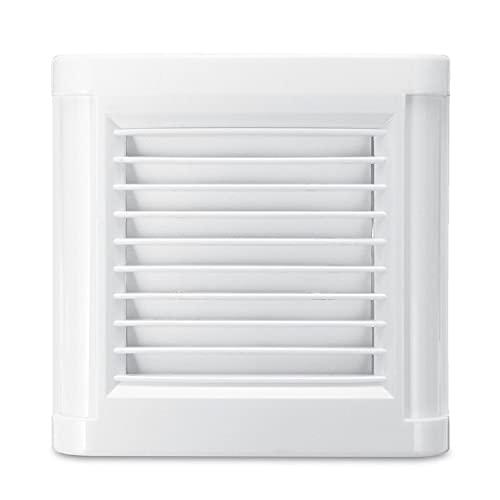 YOUCHOU Ventilador Extractor de Escape Fuerte de ventilación silenciosa de 15 W y 4 Pulgadas para Ventana, Pared, baño, Inodoro, Cocina, Ventilador de Pared de 220 V y 100 mm