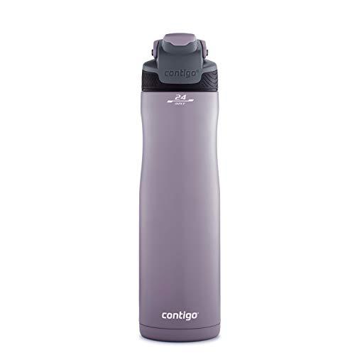 Contigo AUTOSEAL Chill Stainless Steel Water Bottle, Dark Plum