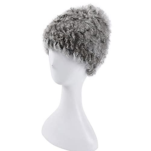 ZOYLINK Beanie Hat Warm Soft Fashion Classic Causal Funky Gorro De Punto a Prueba De Frío Gorro De Reloj Gorro De Invierno Para Mujer