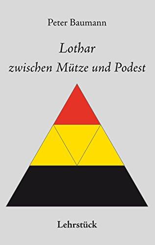 Lothar zwischen Mütze und Podest
