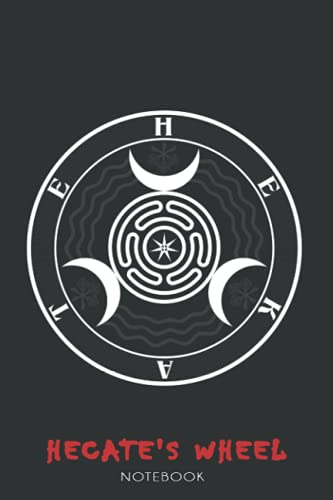 Hecate's Wheel: NOTEBOOK FOR ANIME AND MANGA FANS ( 6 x 9 ) 120 PAGES - GIFT IDEAS