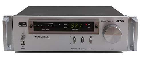 Aiwa R22 Stereo Tuner in Silber - Mni Compo Serie