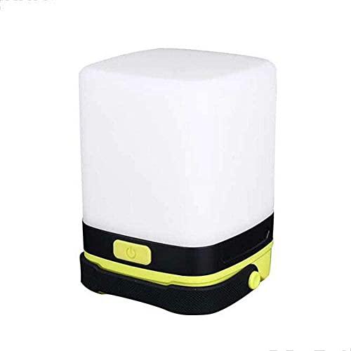 Lámpara de camping portátil LED de silicona, lámpara de camping de colores, ambiente nocturno
