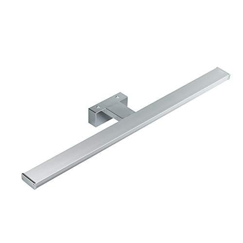 POPP® Apliques Lámparas de baño 220V 8W,12W,15W Iluminación para espejo de pared IP44 Blanco 640Lm-1200Lm 120°(12W 960Lm, 6500K)