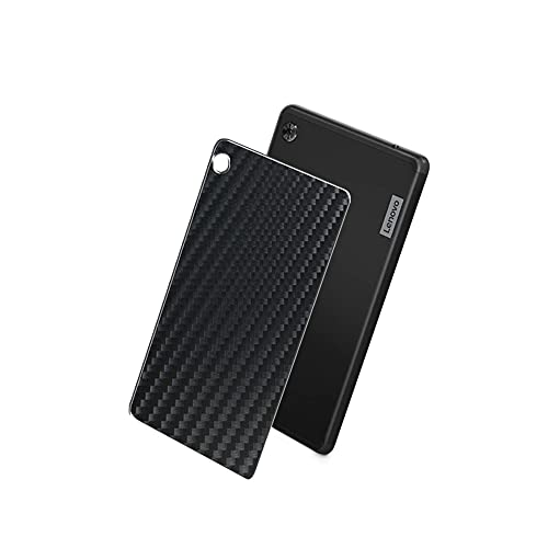 VacFun 2 Piezas Protector de pantalla Posterior, compatible con Lenovo Tab M7 2nd Gen 2 7', Película de Trasera de Fibra de carbono negra Skin Piel
