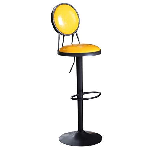 HYLH Barhocker Home Barhocker, Vintage Hochhocker American Barstool Lift Drehstuhl Haushaltssessel Höhenverstellbar Mit Armlehnen Hocker (Farbe: # 6)