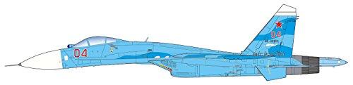 プラッツ 1/72 航空模型特選シリーズ Su-27SM2/3 フランカーB アップデート プラモデル AE-5