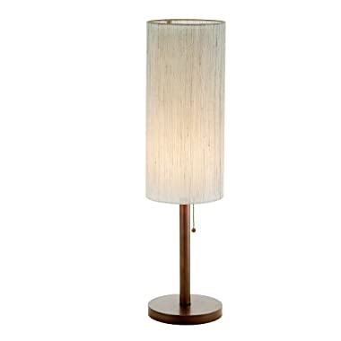 Adesso 3337-15 Hamptons 31  Table Lamp, Walnut, Smart Outlet Compatible