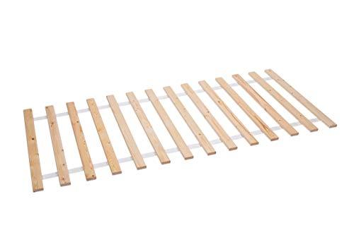 AZZAP Rollrost 90x200cm Rolllattenrost Lattenrost Bettrost Holzlatten 14 Latten Rost