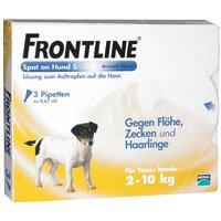 Frontline Spot On H 10 Vet. Loesung (2 bis 10 kg) 3 ST