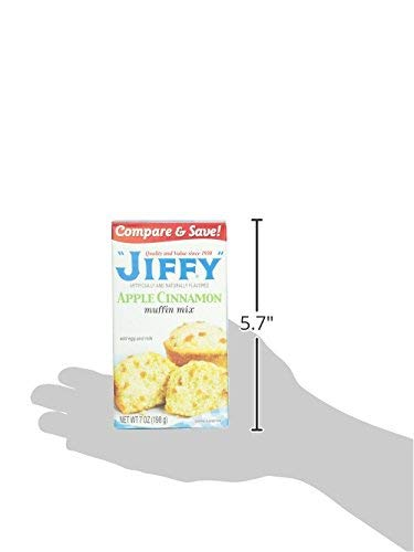 Jiffy Apple Cinnamon Muffin High quality Ranking TOP2 of Mix Pack 4