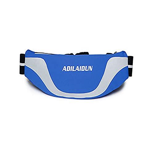 Yuqianjin Regali per godere di sport festival allenamento viaggi corsa casual portafoglio mani libere marsupio borsa telefono trasporto tutti i telefoni (colore blu)