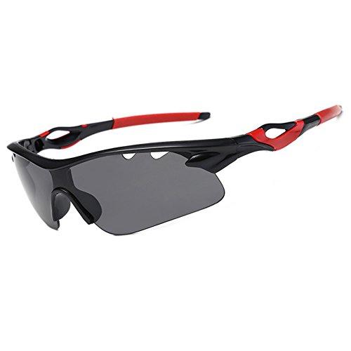 Lunettes de Soleil Polarisées Pour - UV400 pour Sports Baseball Course Cyclisme Pêche Randonnée ski Golf