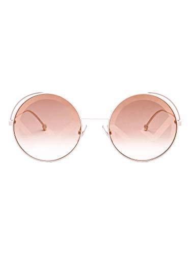 FENDI Luxury Fashion Mujer FF0343SVK6EB Beige Gafas De Sol | Temporada Outlet