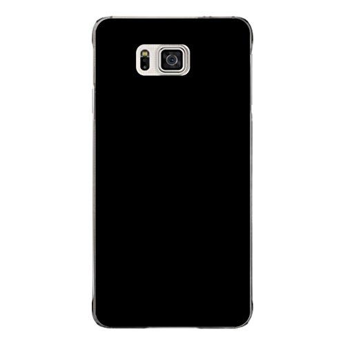 DISAGU Design Case Custodia Protettiva per Samsung Galaxy Alpha Custodia Cover–Motivo: Nero