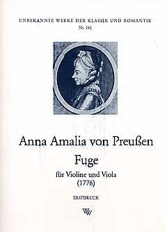 FUGE - gearrangeerd voor viool - Viola [Noten / Sheetmusic] Component: PRIJS ANNA AMALIA VAN
